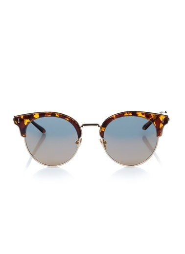 Lady Victoria  Ldy 30020 52 Kadın Güneş Gözlüğü Altın